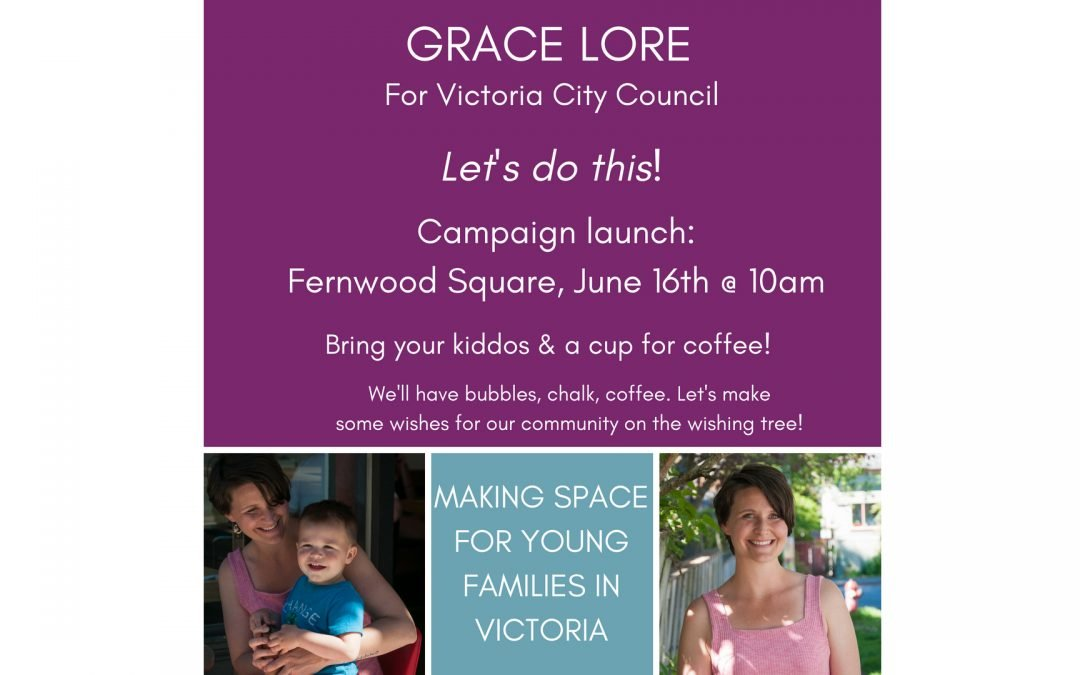 Let's do this! Campaign Launch in Fernwood Square